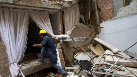 A seis meses del sismo, la reconstrucción va lenta