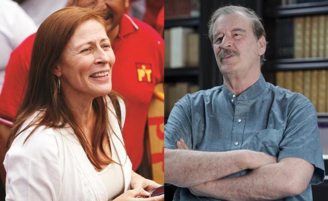 Tatiana Clouthier Coordinadora De Campana De Andres Manuel Lopez Obrador Sostuvo Un Enfrentamiento Por Twitter Con El Ex Presidente Vicente Fox