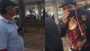 UNAM suspende a vigilantes que aparecen en video de alumno amenazado