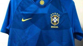 Filtran probable indumentaria de Brasil que utilizaría en Mundial