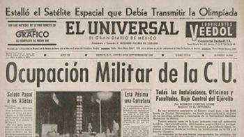 UNAM recupera archivos periodísticos sobre el 68