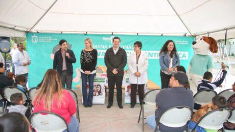 Inicia Semana de Vacunación Antirrábica en Ciudad Guadalupe