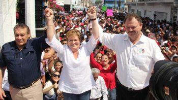 Registra PRI candidatura de Georgina Trujillo al gobierno de Tabasco