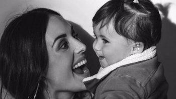 Zuria Vega dedica mensaje a su hija por el Día de la Mujer