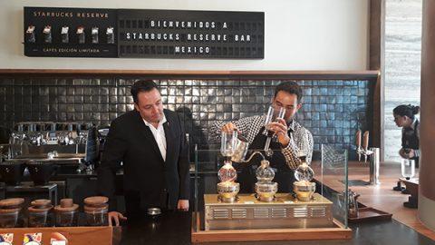 Starbucks abrirá su primera tienda Reserve Bar en México