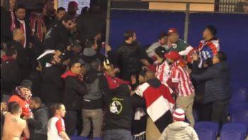 Aficionados de Chivas y Red Bulls se enfrascan a golpes