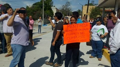 Agreden a mujer en evento de alcaldesa de Tampico