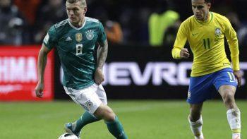 Alemania, Brasil y Bélgica en el 'podio' de la FIFA