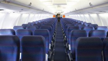 ¿Qué tan sucios están los asientos de un avión?