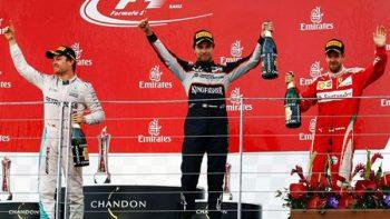 'Checo' Pérez se sube al podio en el Gran Premio de Azerbaiyán