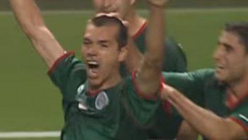 Gol de Borgetti, nominado al mejor en la historia de Copas del Mundo