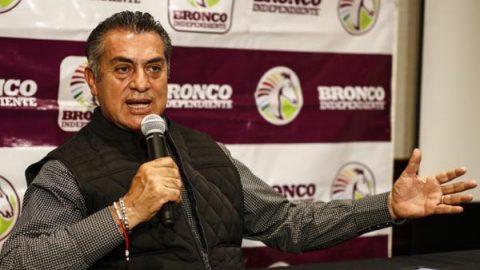 'El Bronco' llama 'mansitos' a consejeros de BBVA Bancomer