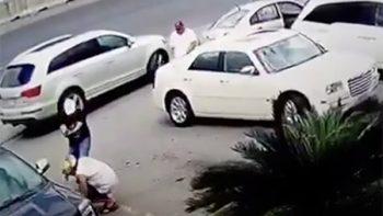 Captan en video homicidio de hombre en Carretera Nacional