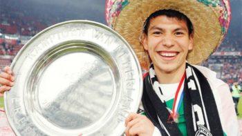El 'Chucky' celebra con su familia el campeonato con el PSV