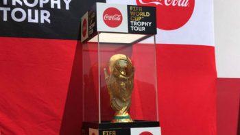 La Copa FIFA está en México, como parte de su tour por el mundo