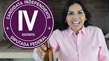 Candidata a diputada federal promete bajar el precio de la cerveza