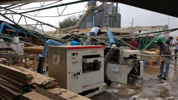 Granizada destruye fábrica, cultivo y viviendas en Puebla