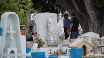 Exhuman cuerpo de bebé de mujer asesinada en Tampico