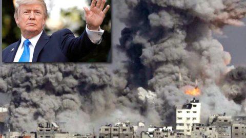 'Misión cumplida', celebra Trump bombardeo a Siria