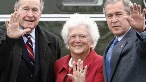 Muere Barbara Bush, ex primera dama de EU