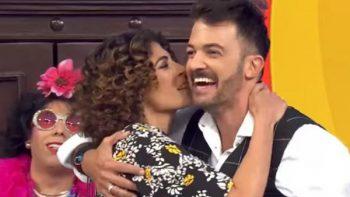 Fernando del Solar recibe beso de su novia en 'Hoy'