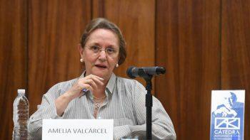 'El feminismo es el único humanismo real': Amelia Valcárcel