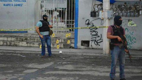 Caos y drama al interior de escuela baleada en Tamaulipas