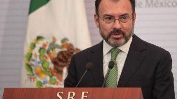 Será un gusto trabajar con Ebrard en transición: Luis Videgaray