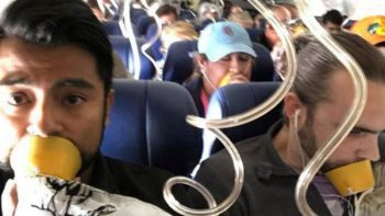 ¿Sabías que las mascarillas de los aviones no llevan oxígeno?