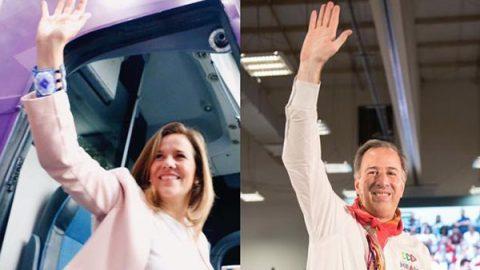 Meade y Zavala piden seguridad nacional durante campañas