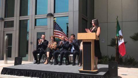 Embajadora Jacobson inaugura el nuevo edificio del  Consulado General