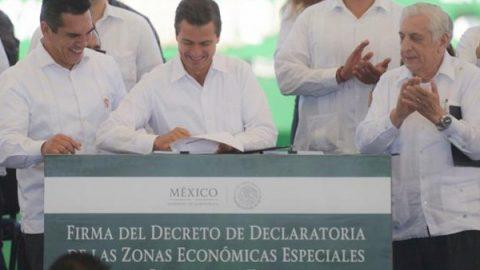 Gobierno federal destinará 50 mil mdp a Zonas Económicas del país