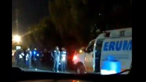 Muere presunto asaltante al resguardarse en una patrulla