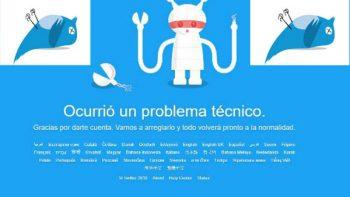 Caída de Twitter en varios países genera 'pánico' entre usuarios