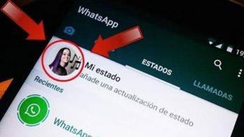 Agrega música a tus estados de WhatsApp
