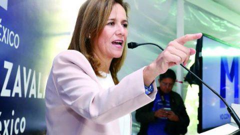 Asesinatos generan tensión en el proceso electoral: Zavala