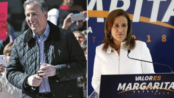 Estado Mayor ya resguarda a Margarita Zavala y José Antonio Meade