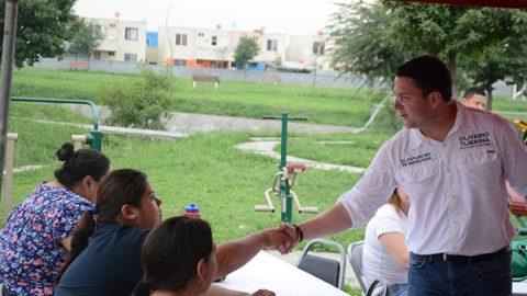 Promoverá Oliverio Tijerina, espacios públicos en Guadalupe