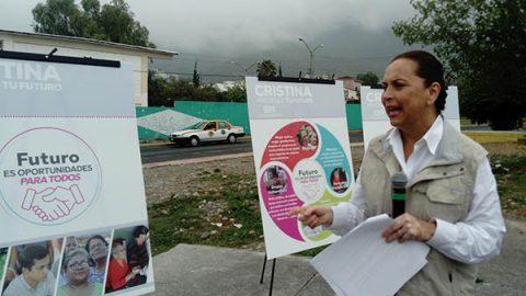 Cristina Diaz presenta programa de oportunidades