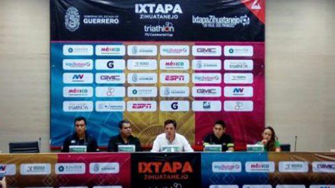 Ixtapa-Zihuatanejo, sede del 34 Triatlón Copa Continental ITU 2018