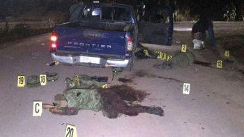 Emboscan y matan a militares en Guerrero