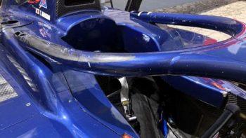 Halo salva a piloto de la Fórmula 2