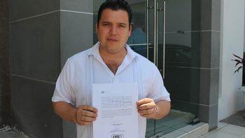 Daniel Torres Cantú, ratificó su renuncia al financiamiento publicó