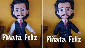 ¡Dale, dale duro! Luisito Rey ya tiene piñata