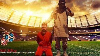 Messi y Ronaldo, víctimas de fanáticos de ISIS en fotomontaje