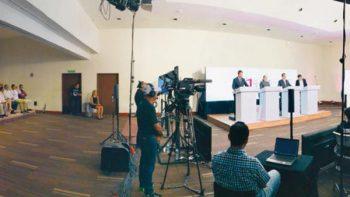 Javier Duarte, protagonista en debate de candidatos veracruzanos