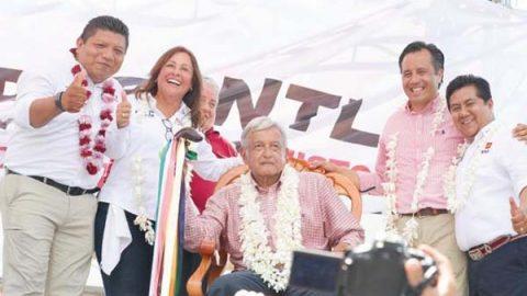Confía AMLO en tener respaldo de Peña Nieto