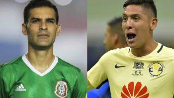 Rafa Márquez arropa a Edson Álvarez