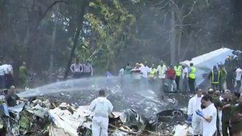 Identifica SCT a tripulación del avión desplomado en Cuba