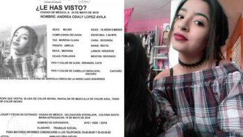 Buscan a joven en Iztapalapa; activan Alerta Amber